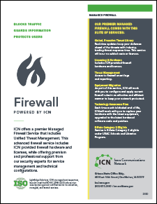 Firewall service cover