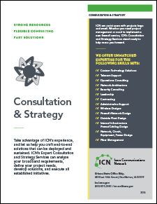 cover of Consultation and Strategy flyer